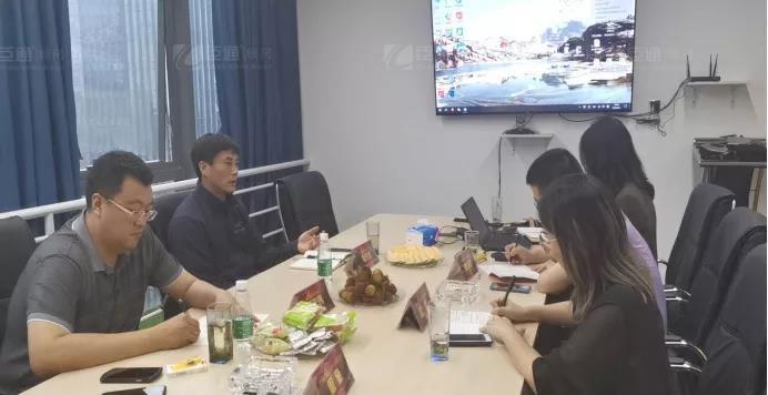 大庆市龙凤区区长李伟峰一行到访臣通