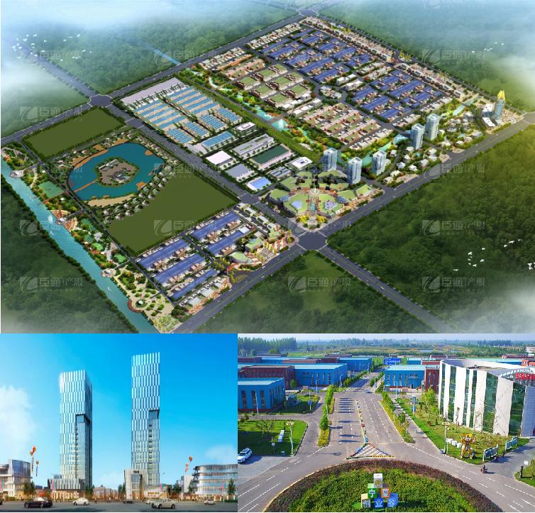 宁夏创业谷中小企业产业新城